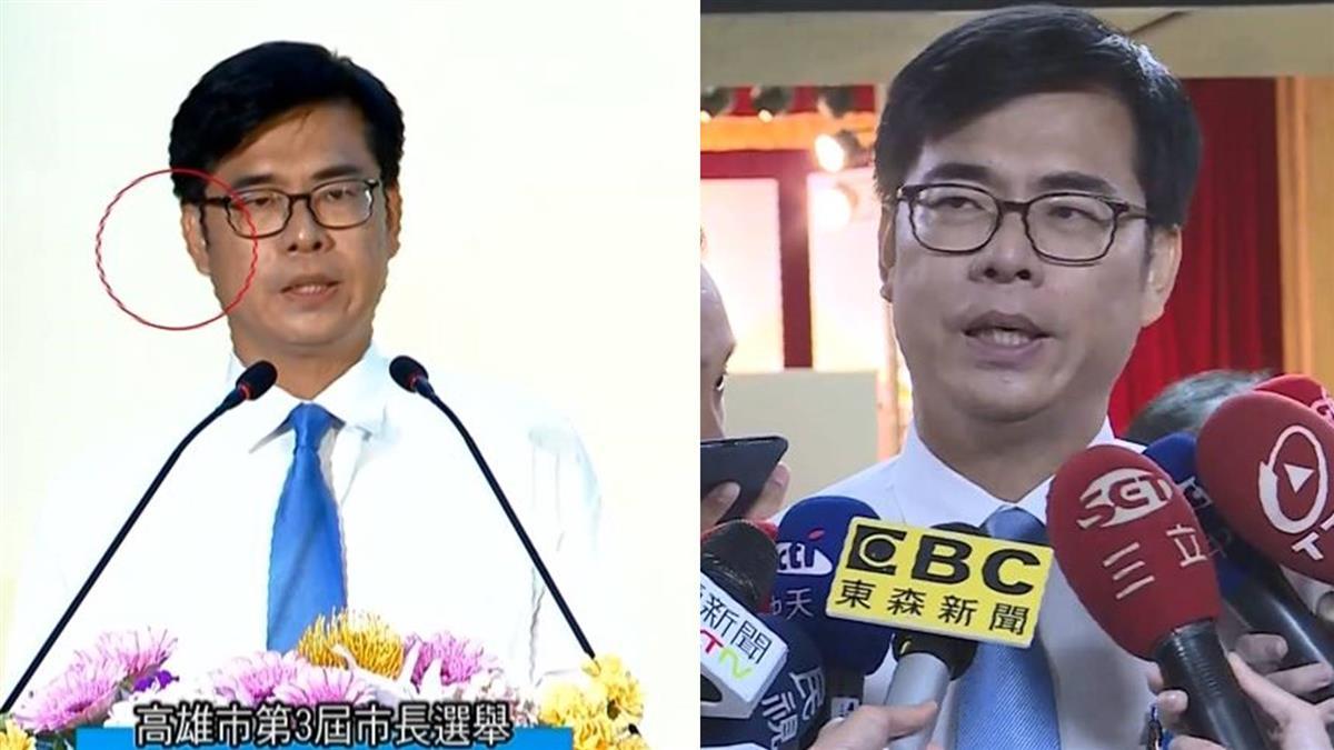 陳其邁遭疑辯論「戴耳機」高市選委會:4人都沒戴