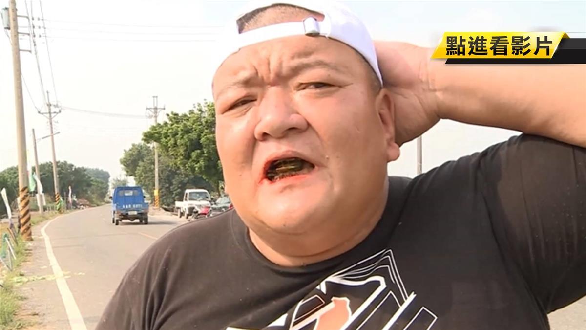 現身了!菜農下跪韓國瑜 原是名爭議網紅