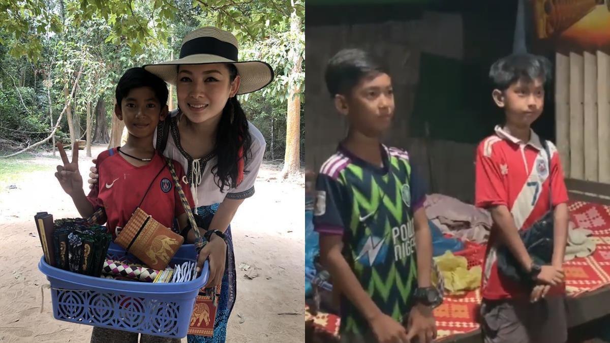 柬埔寨神童會15語言 夢想出國讀書獲紅十字會贊助