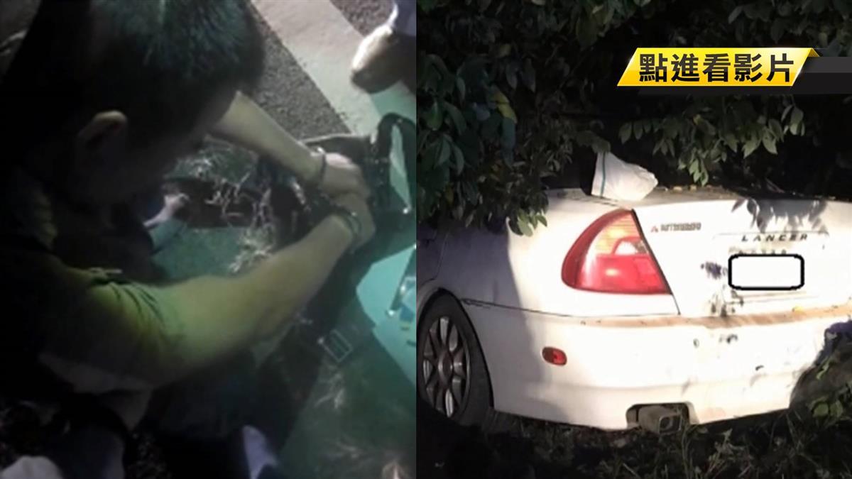 愛車遭竊…車主開另輛車怒追2公里逮小偷