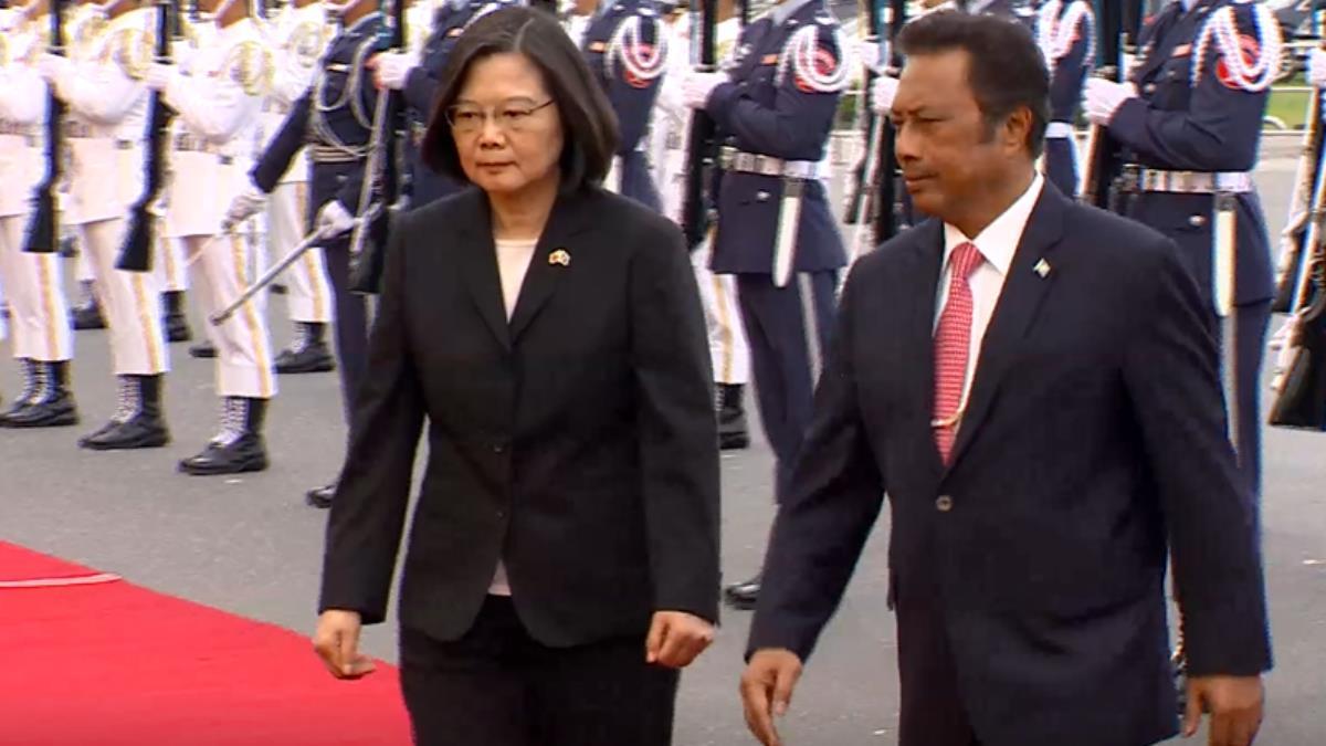 大陸威脅與台斷交!帛琉總統霸氣:交朋友強求不來