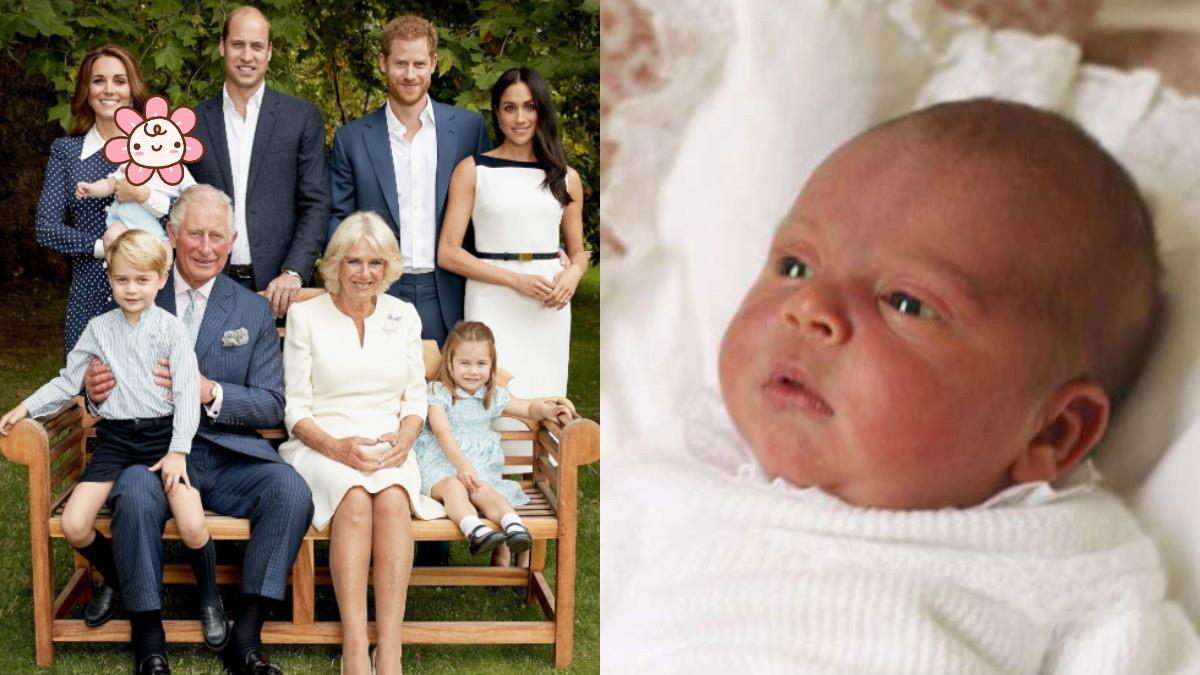 神複製!英皇室3代同堂照 路易王子萌爆超像爸爸