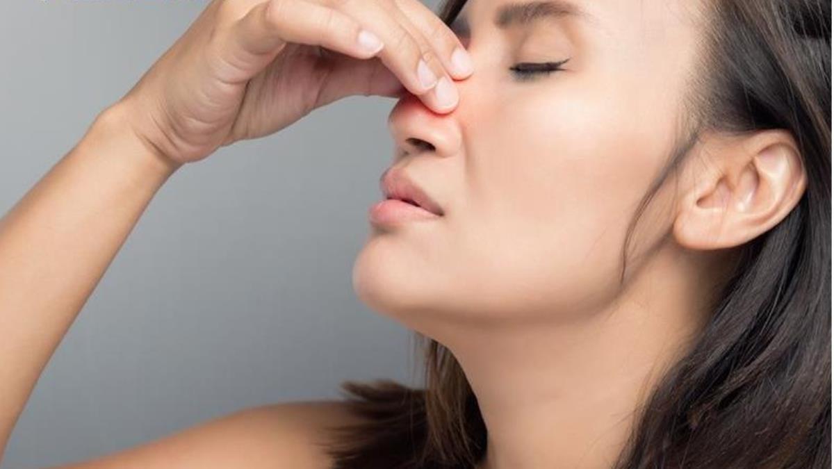 鼻息肉塞滿鼻腔 微創手術重獲暢快呼吸