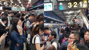 北捷供電軌有火花 板南線列車持續延誤中!