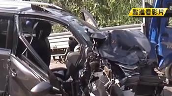 酒駕貨車逆向超車 對撞休旅車釀8人傷