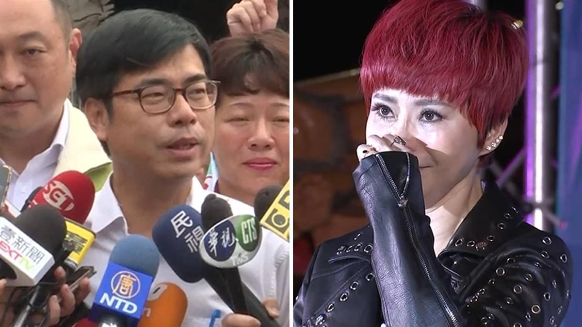 詹雅雯淚崩  陳其邁:韓流逆襲刺痛高雄人心