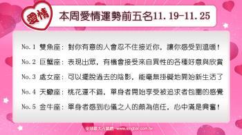12星座本周愛情吉日吉時(11.19-11.25)