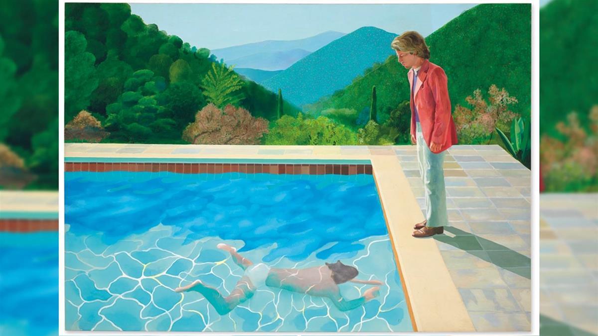霍克尼畫作近28億敲槌  在世藝術家拍賣天價