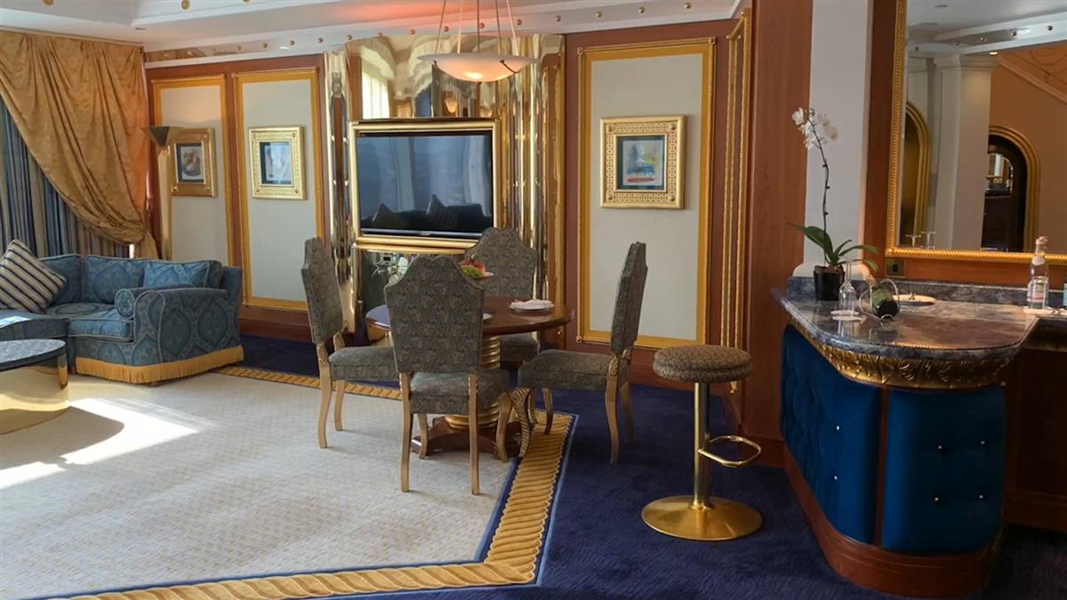 台灣「靠這點」贏杜拜! 開箱帆船飯店超大豪奢房