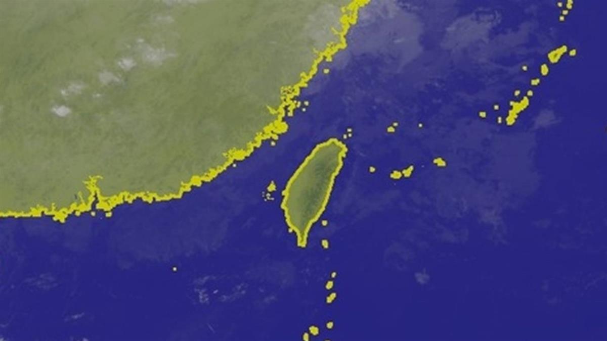 第27號颱風桔梗形成 對台灣無影響