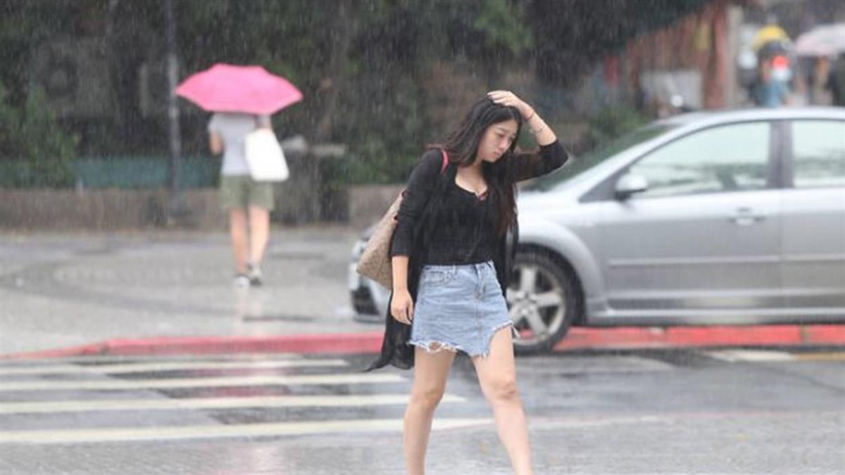 午後變天!東北部入夜後雨勢明顯 颱風桔梗生成
