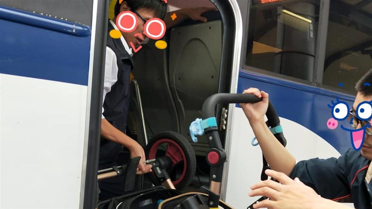 媽帶2寶去新北耶誕城 公車司機暖舉2萬人讚爆!
