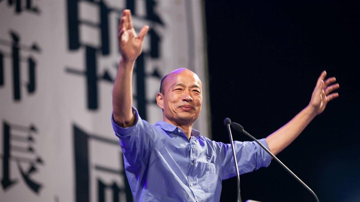 韓國瑜深夜PO文 感謝10萬人「今年一定會好過!」