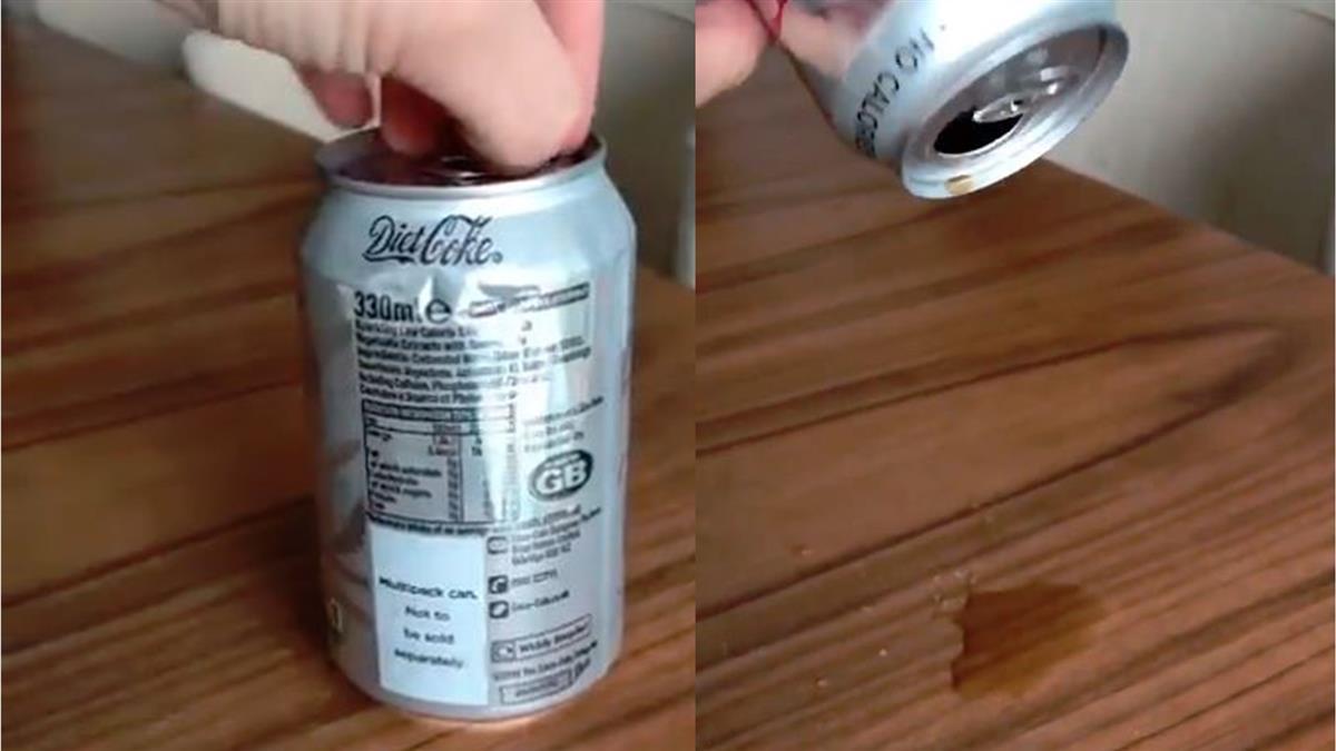 可樂打開「只有幾滴」…網驚:值61萬!結局讓她崩潰