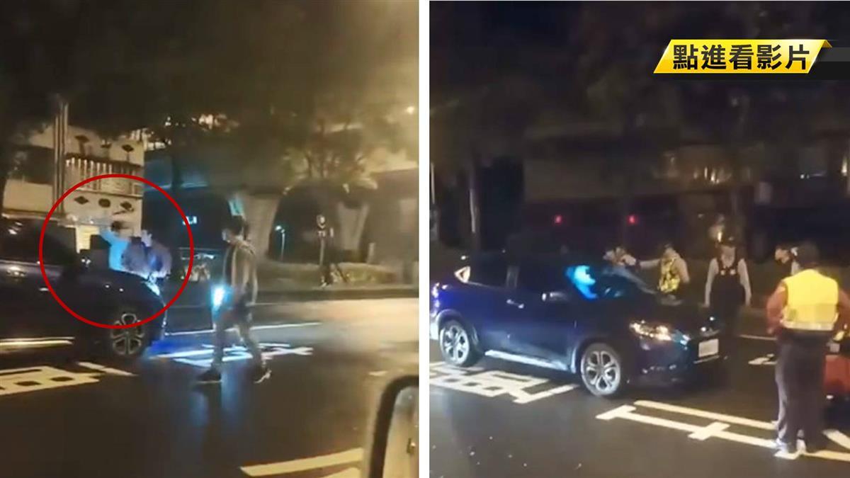 國道「雷射筆狂照」挑釁!HRV駕駛遭砸車 驚人身分曝光