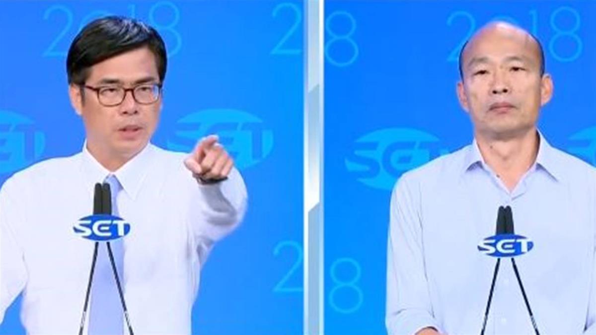高雄市長電視辯論 藍綠結論主打「經濟」