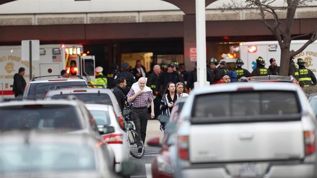 芝加哥醫院驚傳槍擊事件致2死2傷 槍手身亡