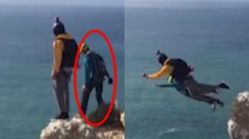 受死神召喚?男跳傘15秒急速下墜 隊友目睹慘死瞬間