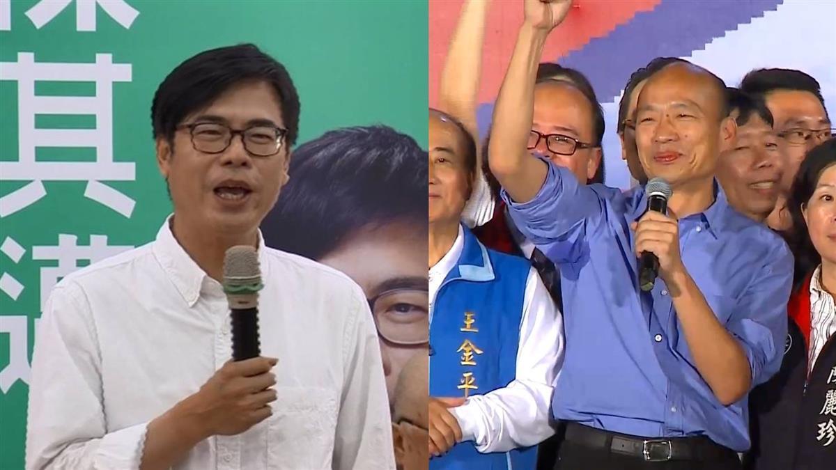 辯論後與韓國瑜擁抱 陳其邁:高雄是包容城市