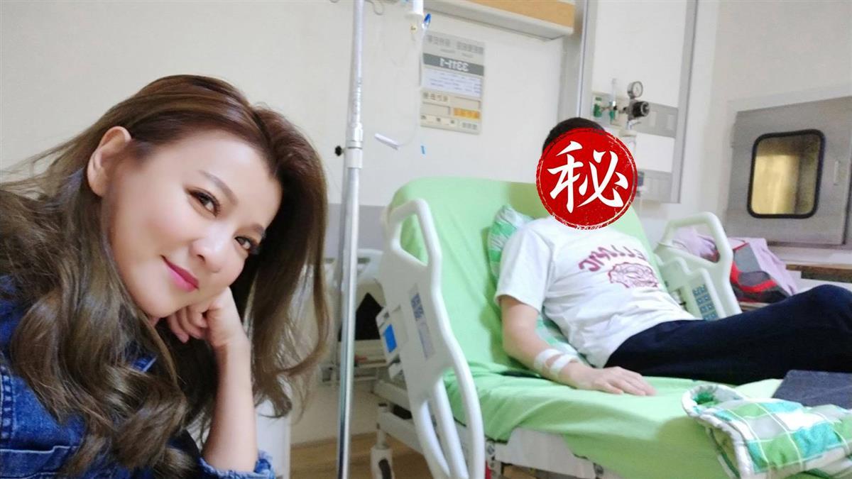 侯昌明「不明原因」肚痛住院!3天暴瘦病態曝光