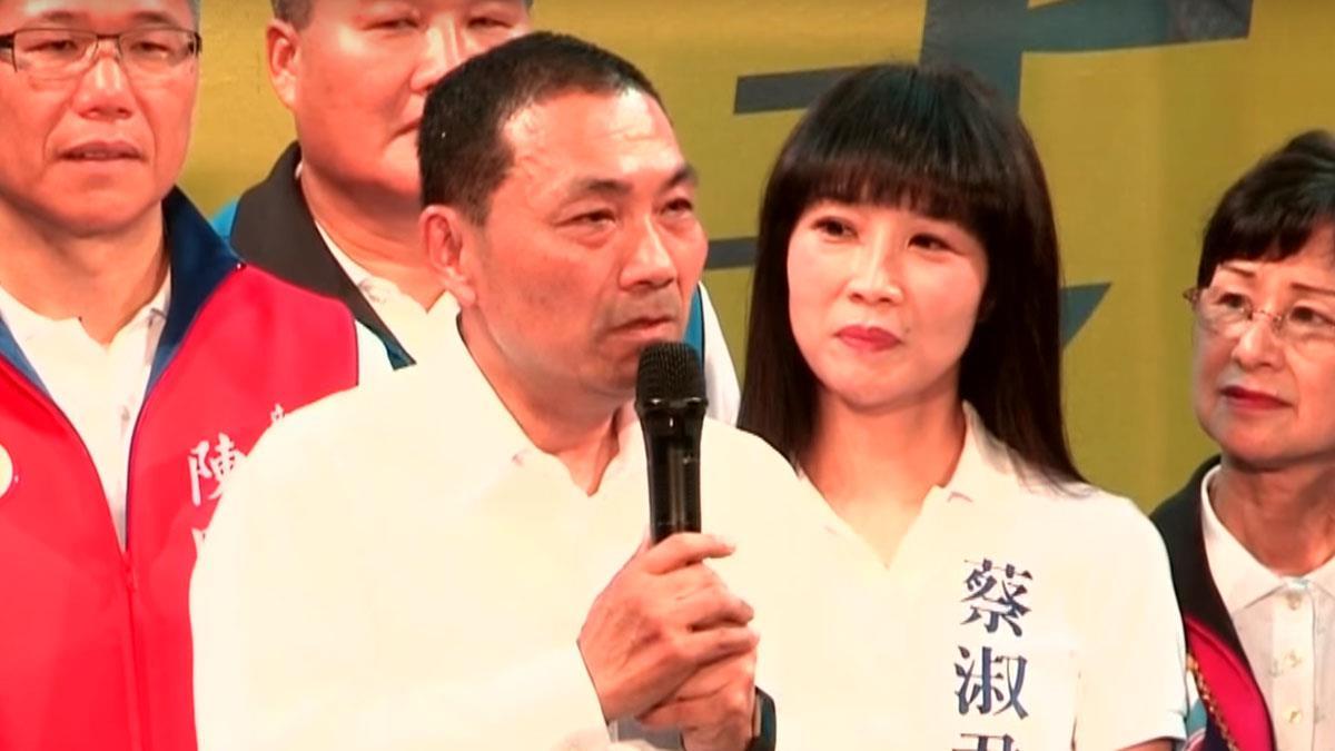 警界鐵漢轉戰政壇 侯友宜感性告白:老婆我愛你