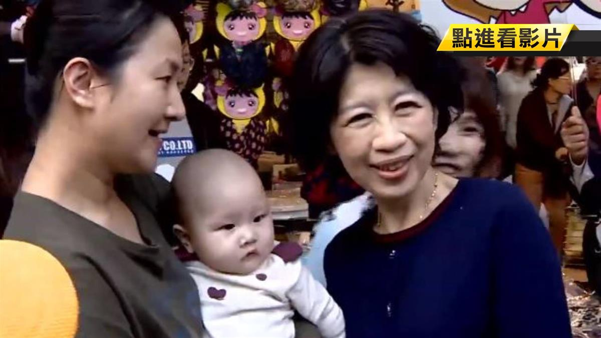 衝刺!搶救柯P選情 陳佩琪、柯媽狂掃街拜票