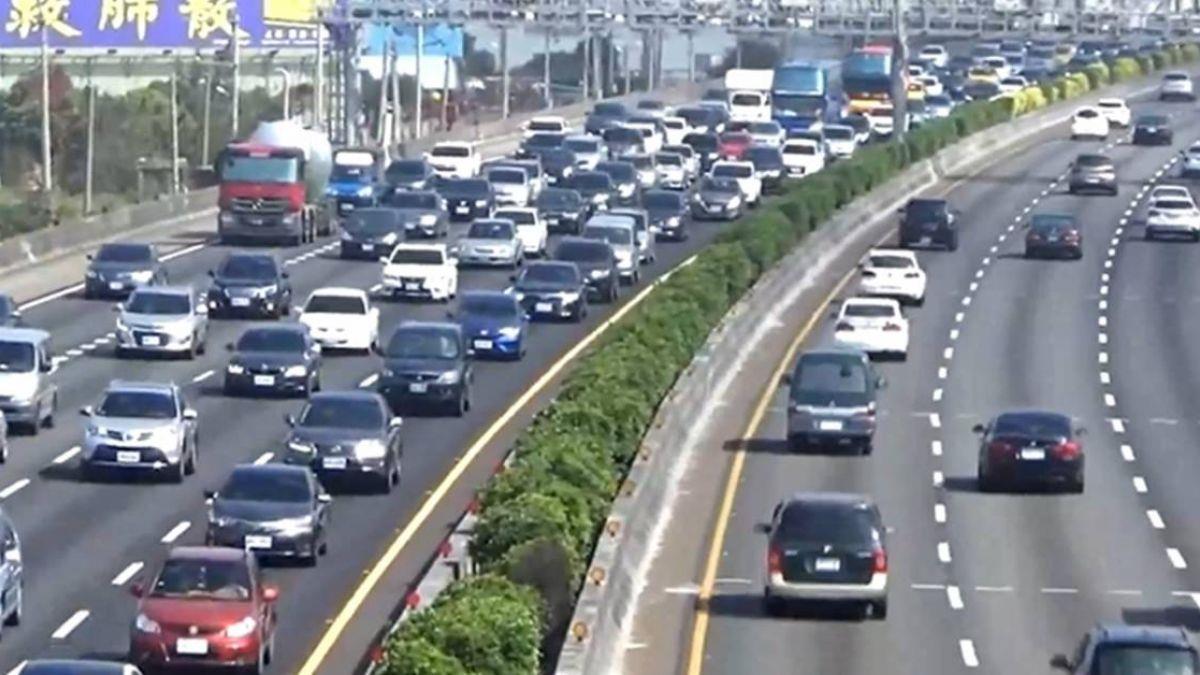 投票日國道交通量增5% 提早出門免逾時