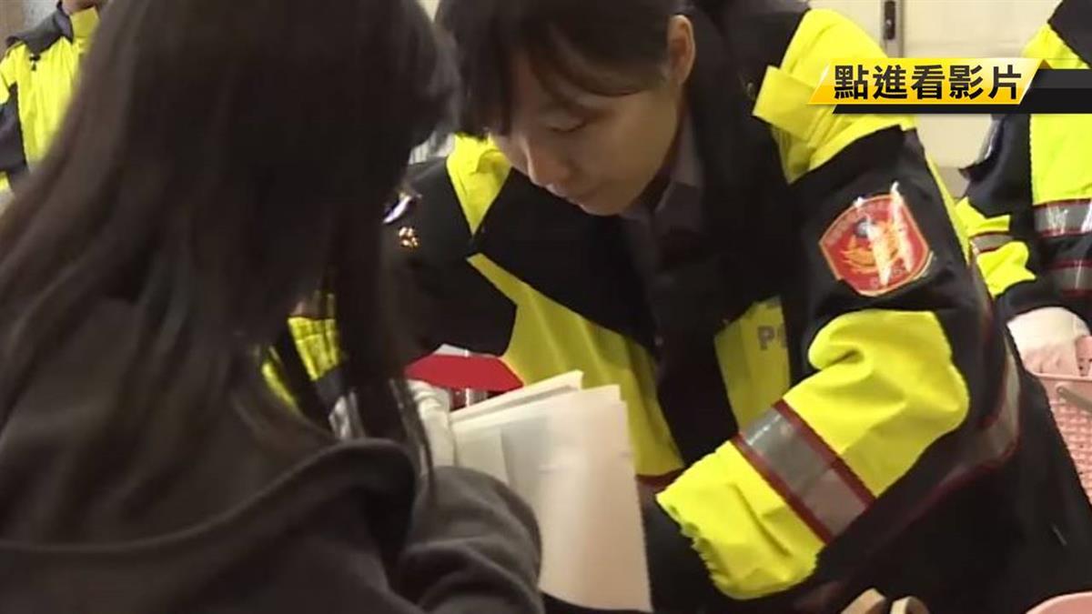 防選票外流!半夜警戒備護送 複點管制嚴