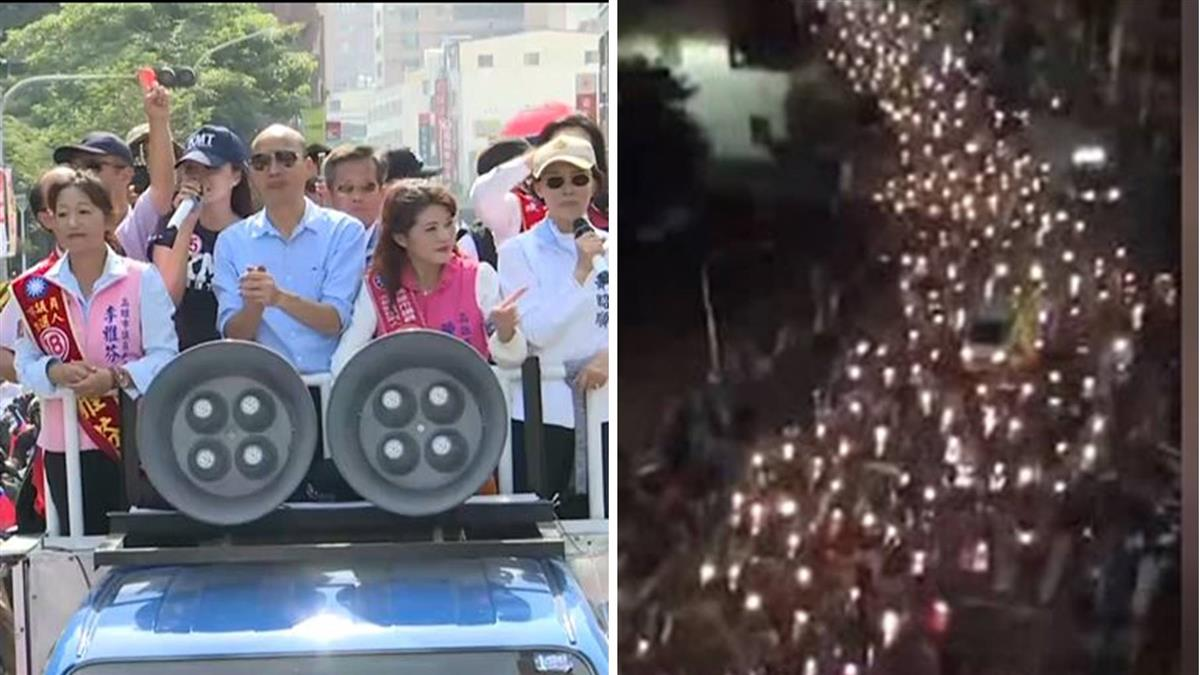 造勢機車街頭跟隨  韓國瑜籲:要守秩序