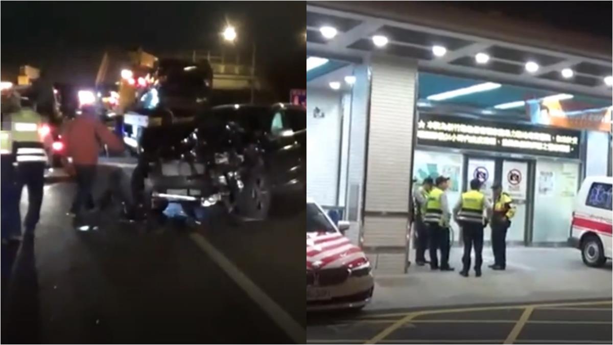 國道遇事故如何處置 警籲:勿站車道上