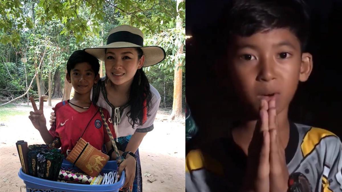 柬埔寨神童一夜爆紅!不忘感恩讚女遊客:人美心腸好