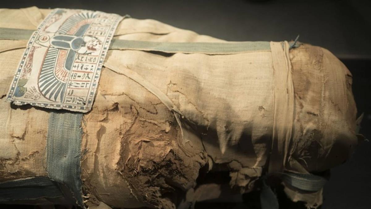 埃及發現古墓和石棺 出土木乃伊保存良好