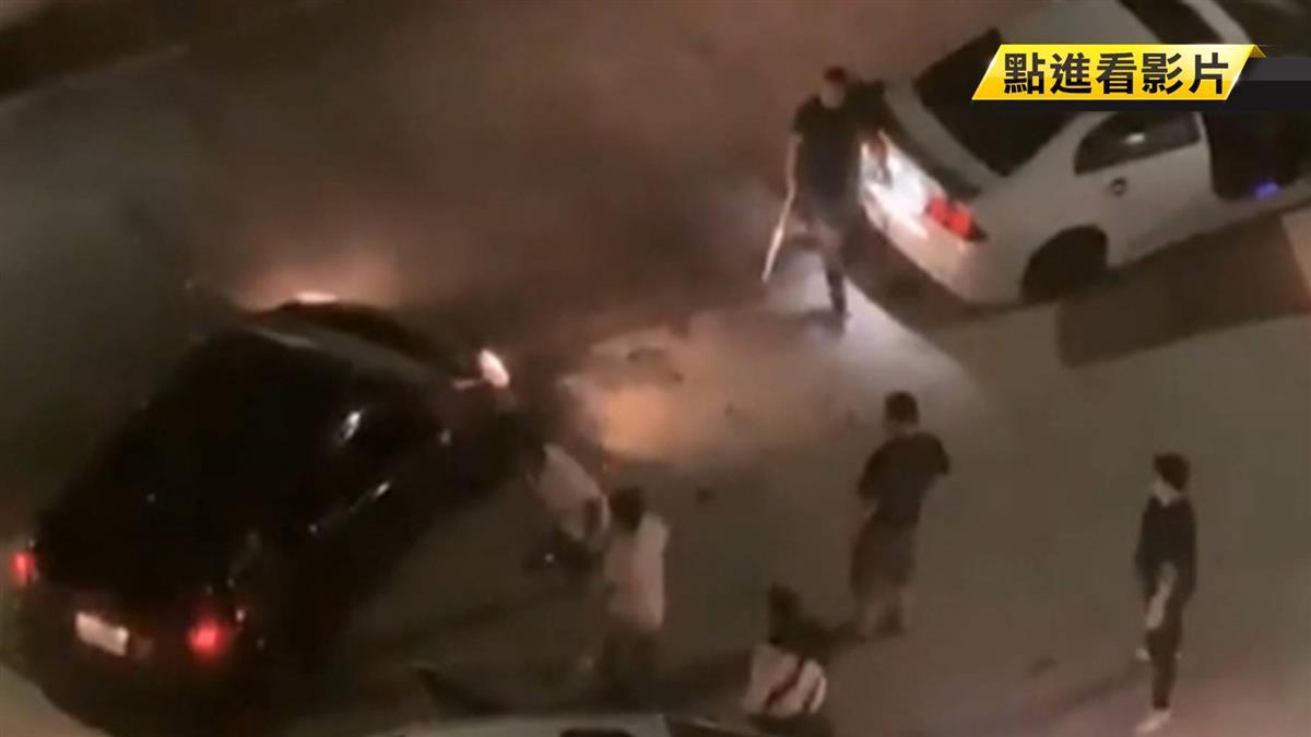 行車糾紛惡煞砸車 駕駛「丟包友人」自己逃