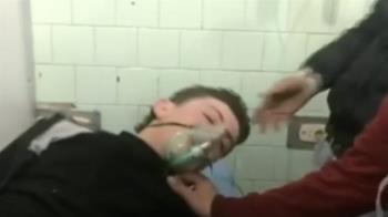 敘利亞政權控武裝團體毒氣攻擊 107人呼吸困難