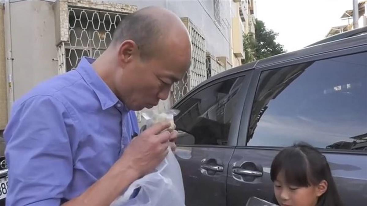 翻轉高雄經濟!韓國瑜介紹小吃 攤販:人潮多3成