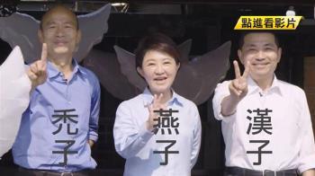 「禿子、燕子、漢子」藍新三太陽 牽動藍2020布局
