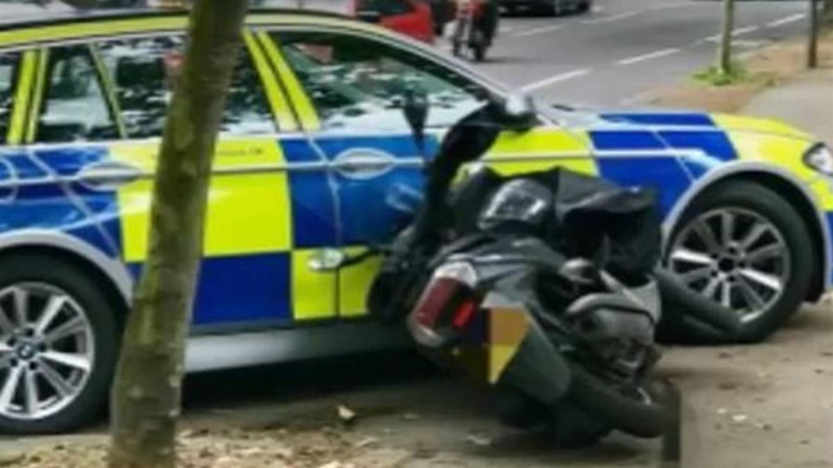 英警推「戰術性接觸」衝撞搶匪!一年內搶案變少了