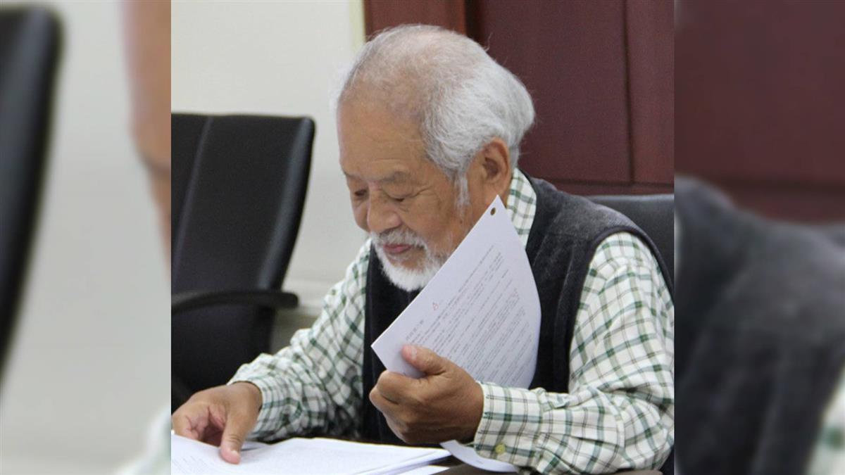 詩人林瑞明68歲辭世 自自冉冉製成春聯曾引熱議