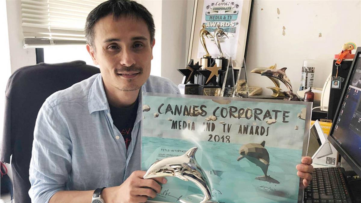 元智師執導企業形象影片 法國坎城競賽獲獎