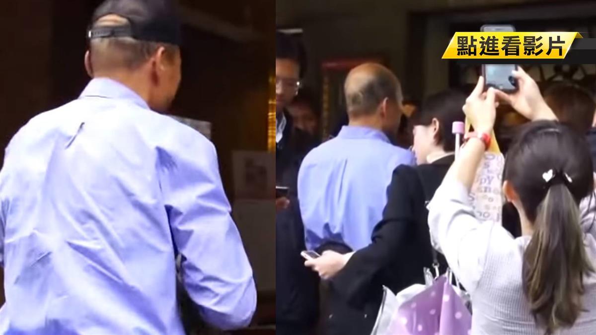 韓國瑜當選後首露面「韓流」從南燒到台北