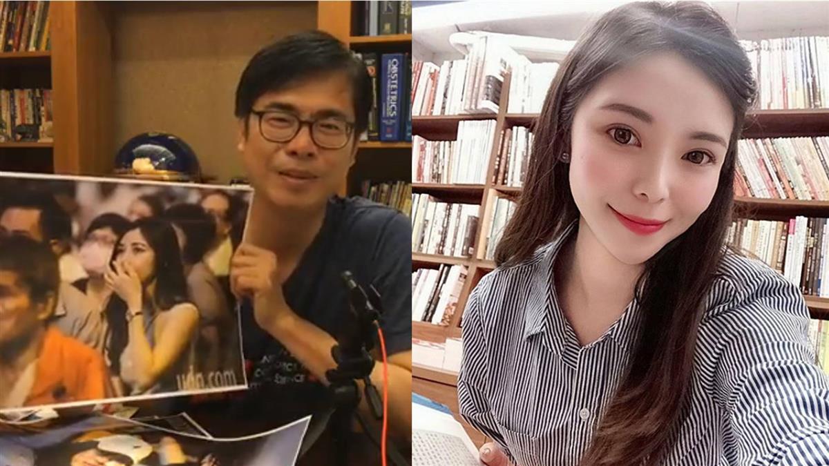 民眾爆淚…陳其邁請喝咖啡!「高雄正妹」身分曝光