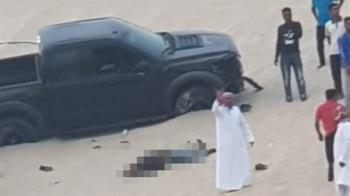 男沙漠越野飆車嗨翻 下秒被12歲童開車撞死