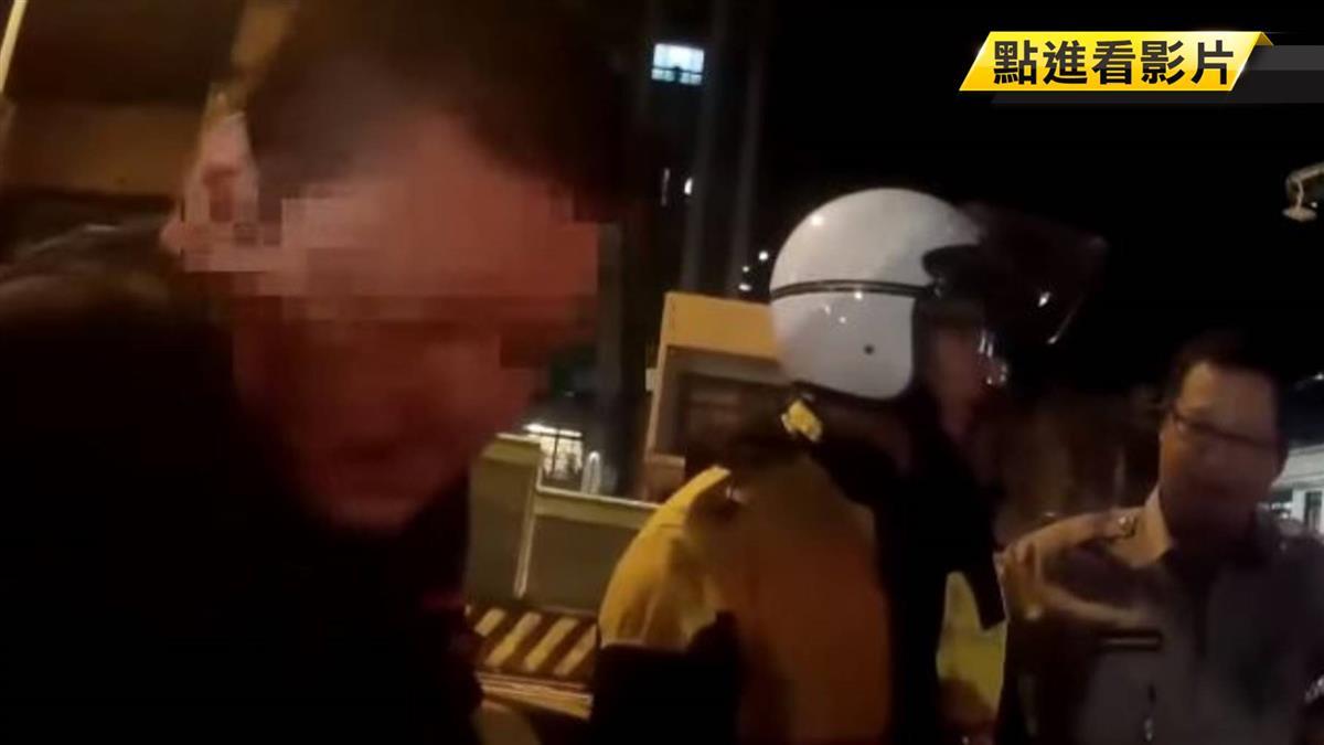 酒駕男拒檢狂飆 警鳴笛追8公里逮人