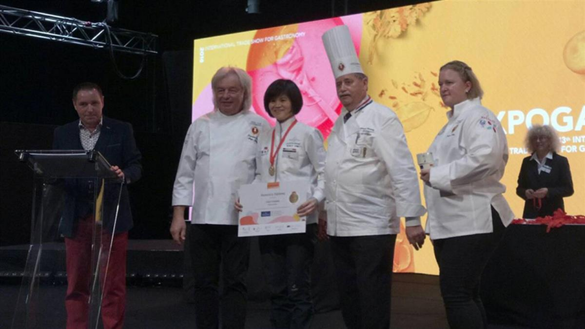 超強台灣主婦 盧森堡國際廚藝賽奪金