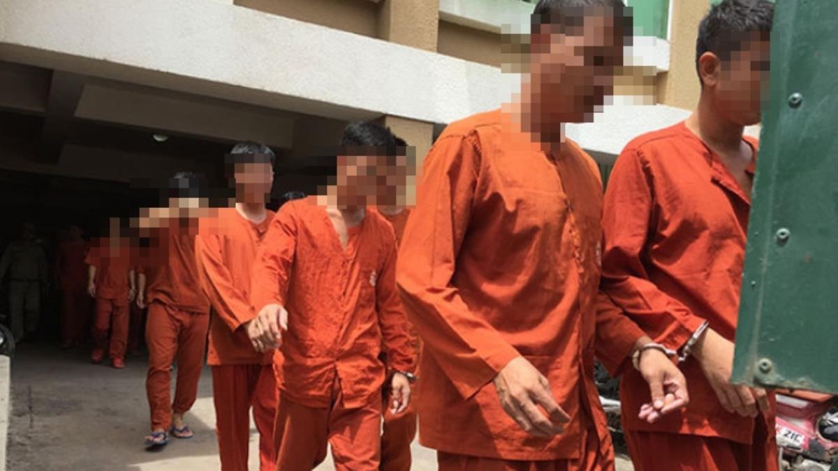 柬埔寨破獲電信詐騙集團 17台籍嫌犯被捕