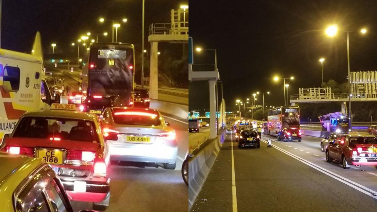 香港載觀光客巴士重大車禍 5死31傷