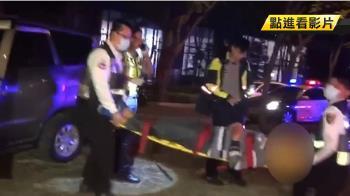 男酒駕追撞 無辜駕駛衝安全島斷樹 頭傷送醫