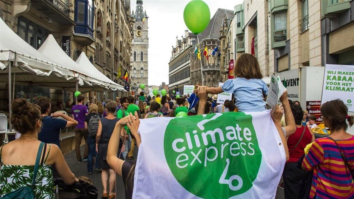 數萬比利時民眾走上街頭 籲請政府對抗氣候變遷
