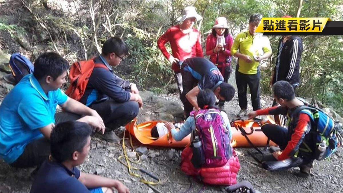 雲林登山隊虎山健行 58歲男不慎摔落山坡