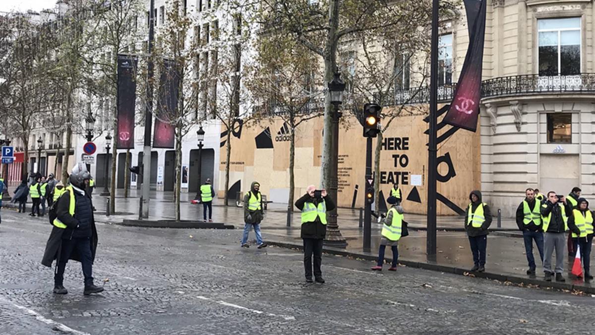 法國黃背心打亂產銷運輸 後續還有經濟代價